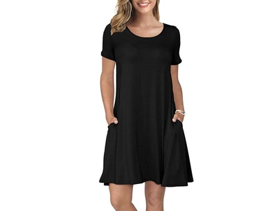 KORSIS Short-Sleeve T-Shirt Dress