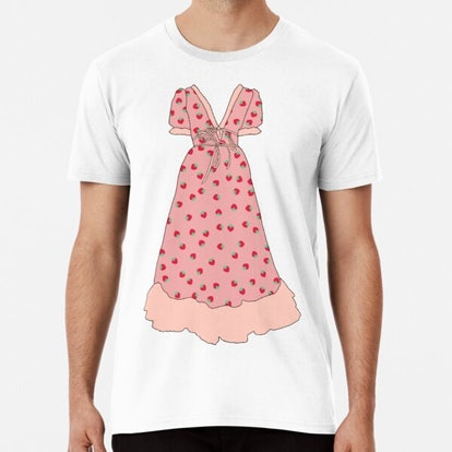 CorinneCarollo Strawberry dress Premium T-Shirt