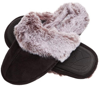 Jessica Simpson Fur Slippers