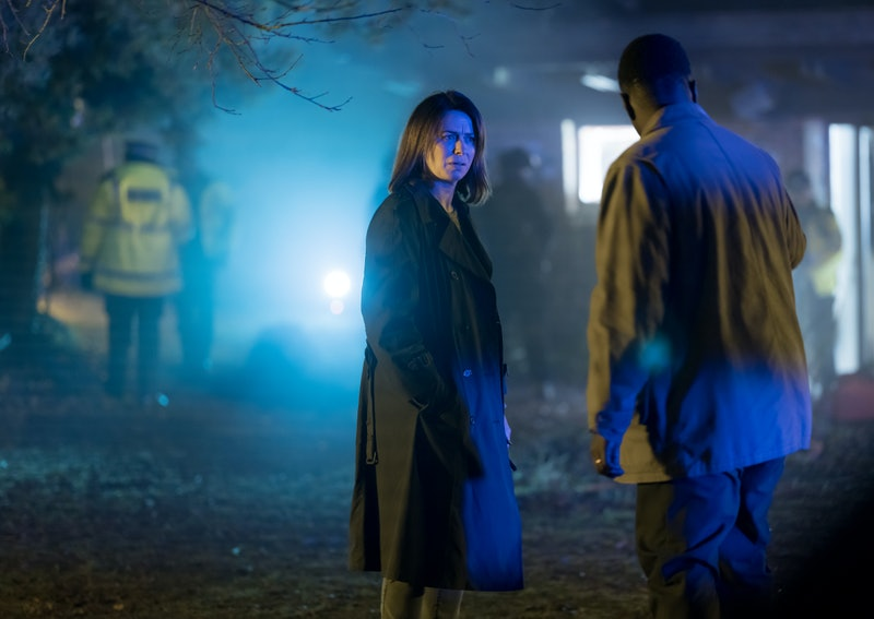 Eve Myles as Lola in WE HUNT TOGETHER via the Showtime press site