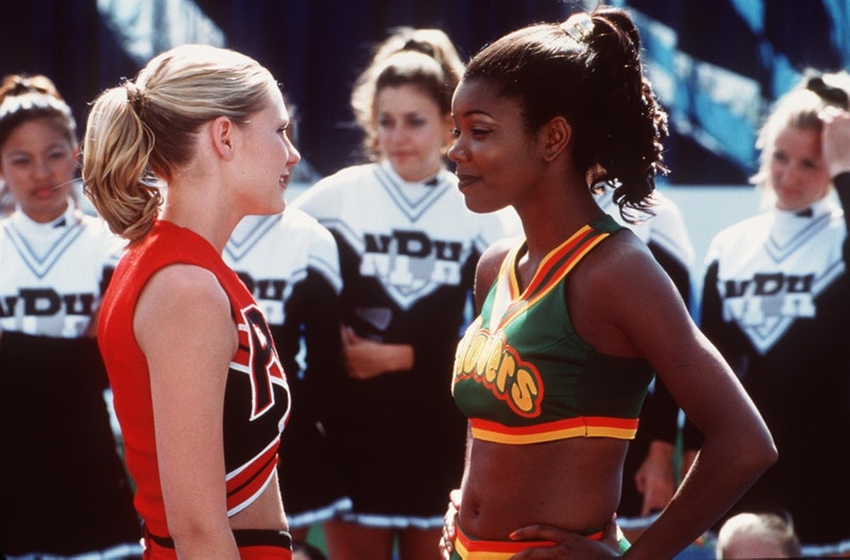 Gabrielle Union and Kirsten Dunst in 'Bring It On'