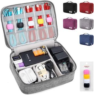 DEMACIA Travel Cable Organizer Bag