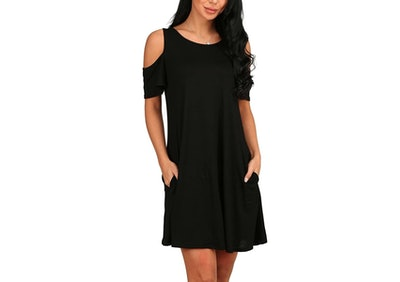PCEAIIH Cold Shoulder Dress
