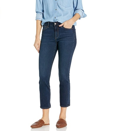 Goodthreads Mid-Rise Crop Straight Jeans