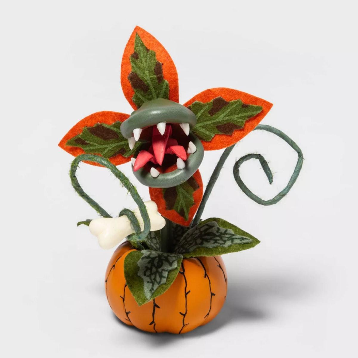 Creepy Decorative Halloween Faux Succulent