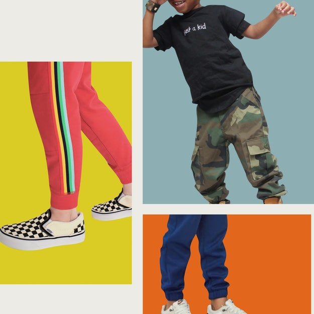 comfortable and stylish sweatpants for children