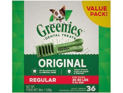 Greenies Original Regular Dental Dog Treats (36-Pack)