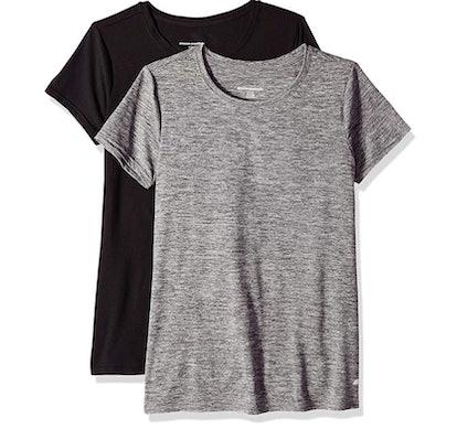 Amazon Essentials Women's 2-Pack Short-Sleeve Crewneck T-Shirt