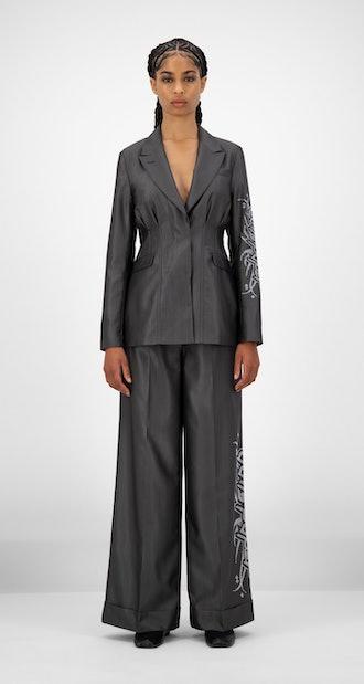 Dark Grey Jazira Jacket