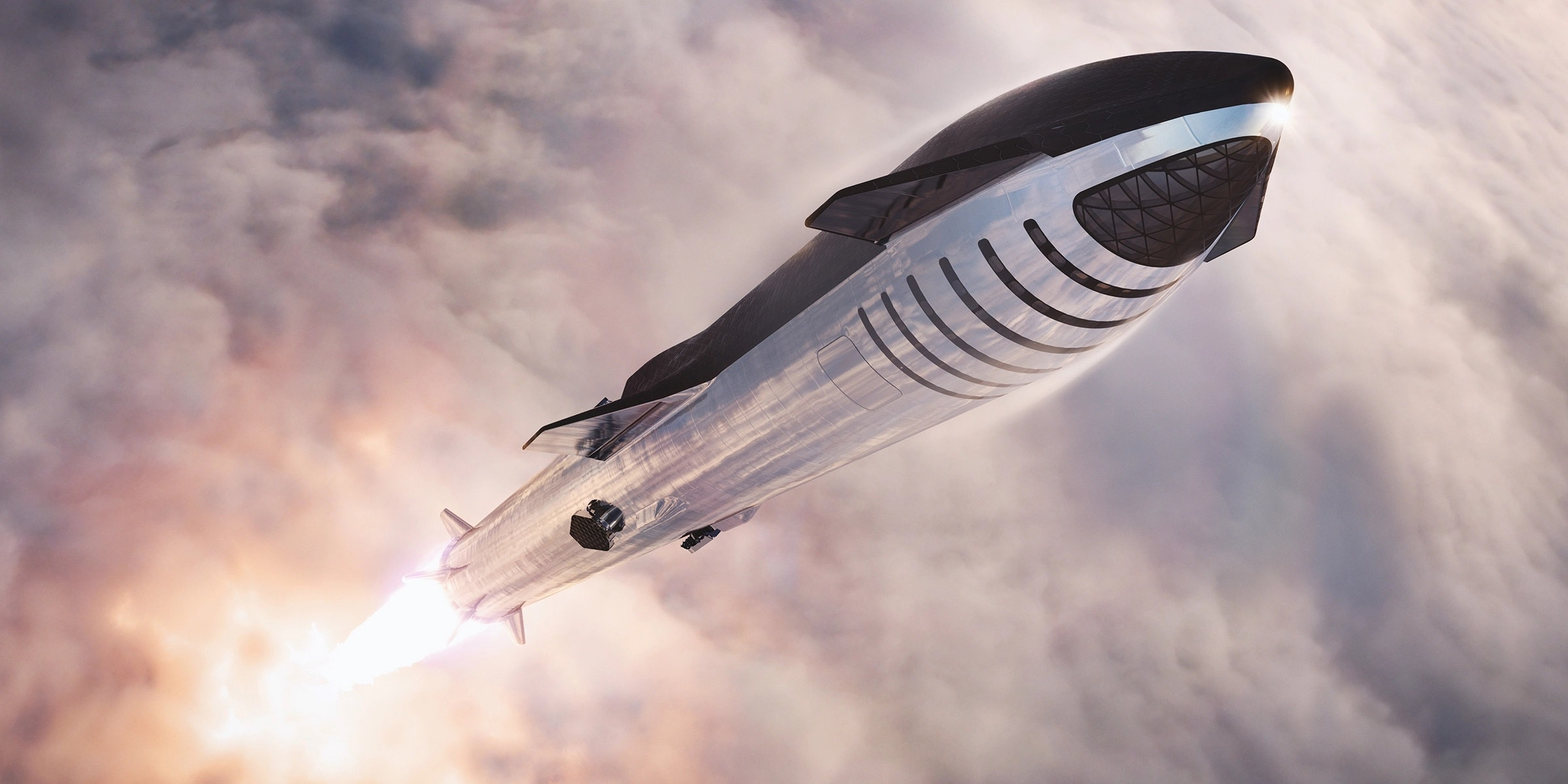 Spacex Starship Elon Musk Outlines Plans For 60 000 Foot Launch