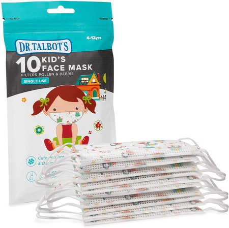 Dr. Talbot's Disposable Kid's Face Mask- 10 Pack