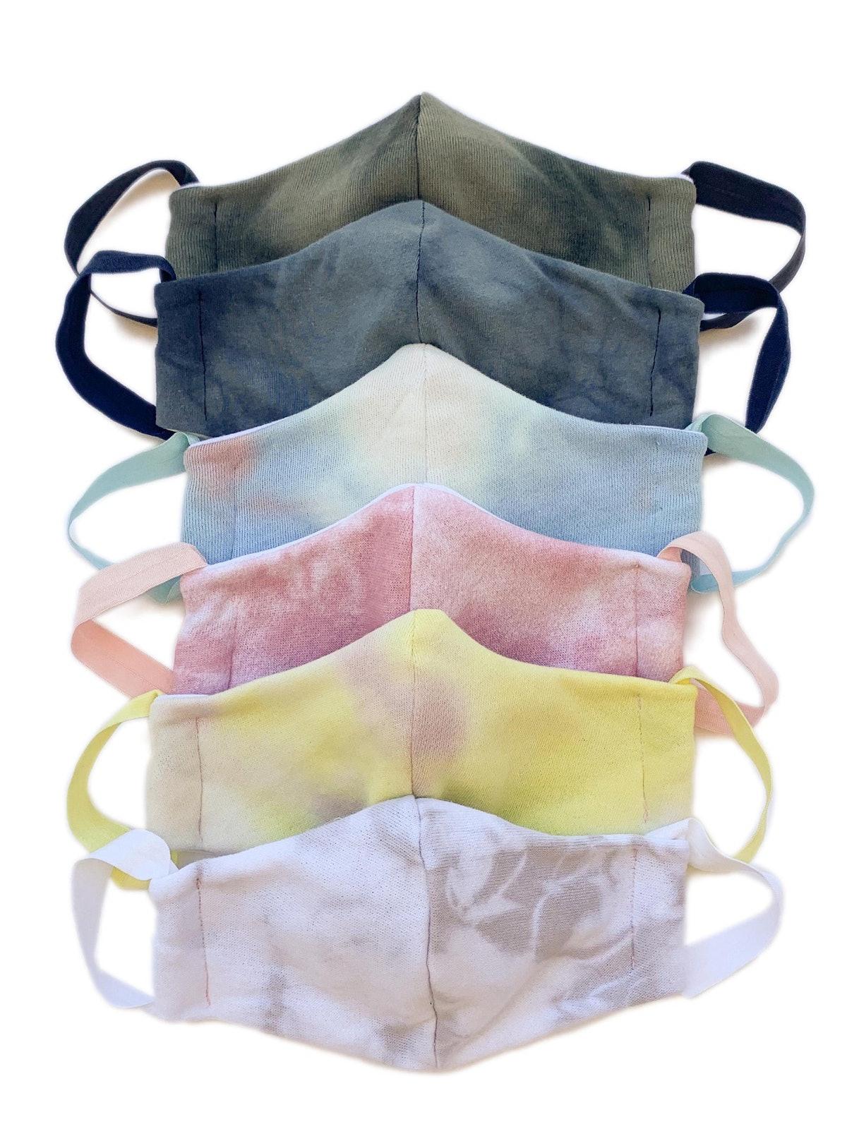NaMASKte Triple Layer Tie-Dye Face Mask