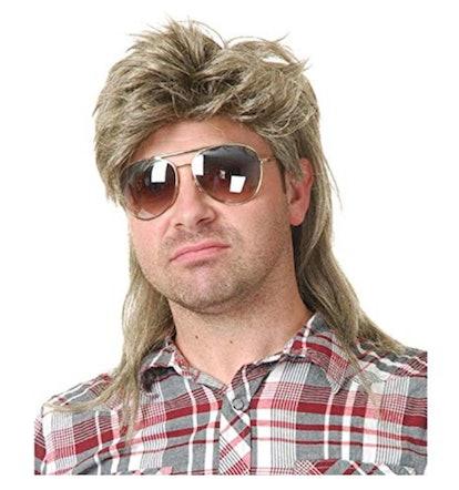 Baruisi 80s Men's Mullet Wig