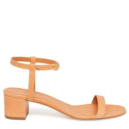 Vegetable Tanned Ankle Strap Sandal