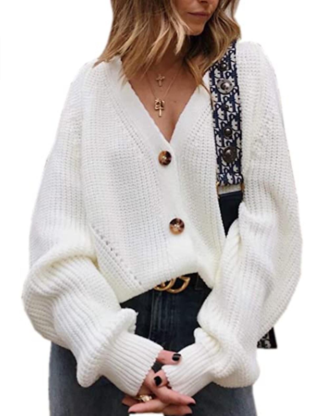 Asskdan Basic Knit Cardigan