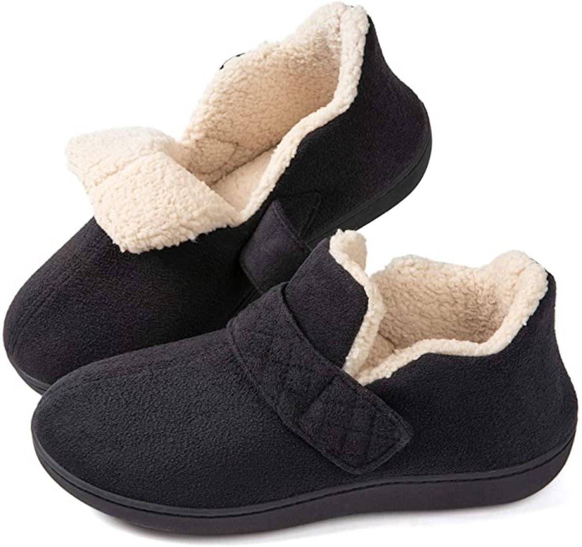 ZIZOR Women's Cozy Memory Foam Slippers