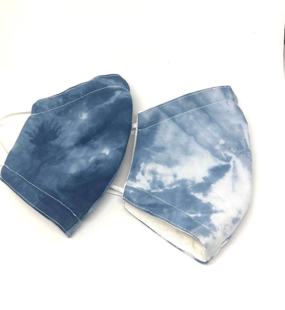 Minkiki Designs 2 Tie Dye Print Masks