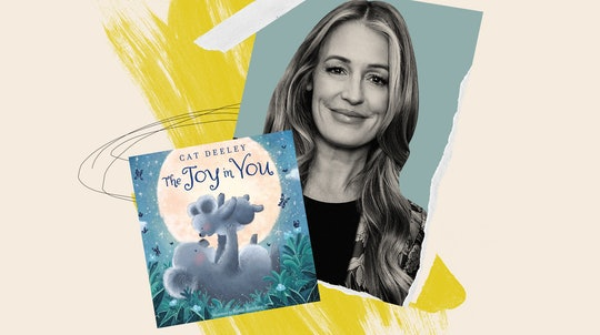 Cat Deeley and her new children's book, 'The Joy In You.'