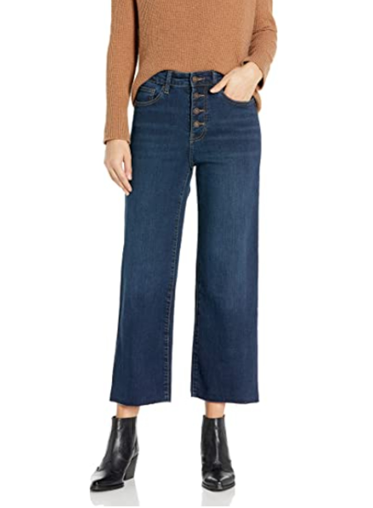 Goodthreads High-Rise Wide Leg Cropped Jean