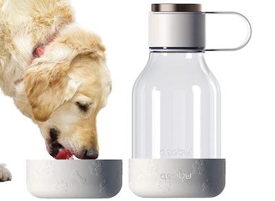 Asobu Dog Bottle And Bowl
