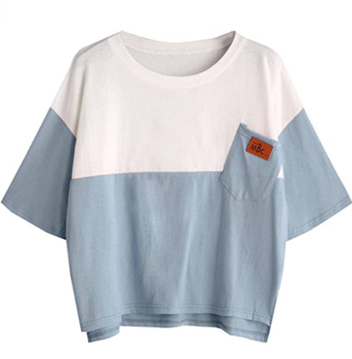 SweatyRocks Casual Loose T-Shirt