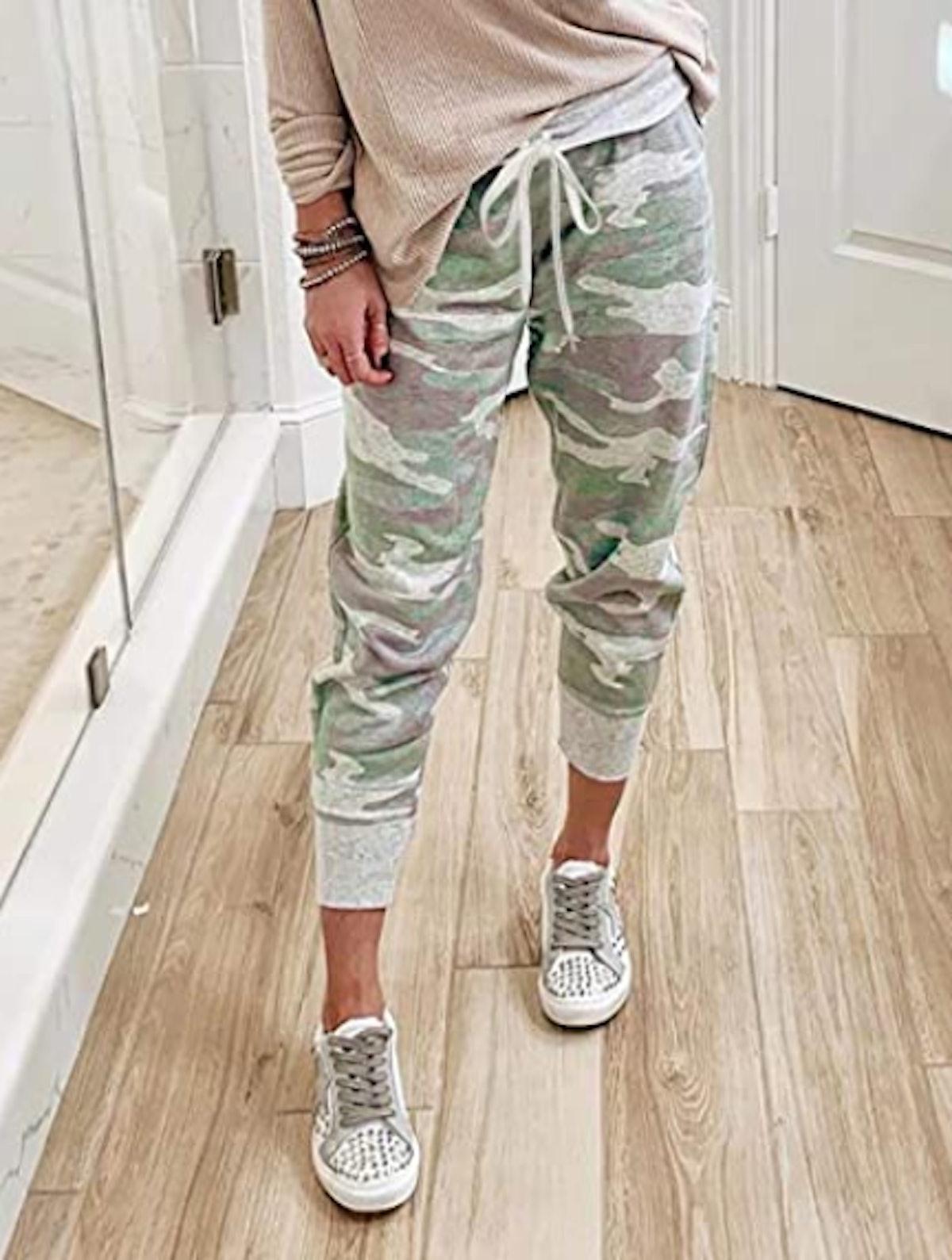 Acelitt Drawstring Jogger Pants with Pockets