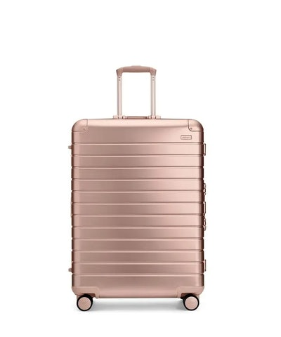 The Large Suitcase Aluminum Edition In Rose Gold