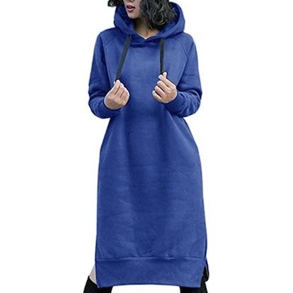 NUTEXROL Women's Thickening Fleece Sweatshirt