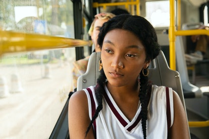 Jordan Kristine Seamón as Caitlin in 'We Are Who We Are' via HBO's press site