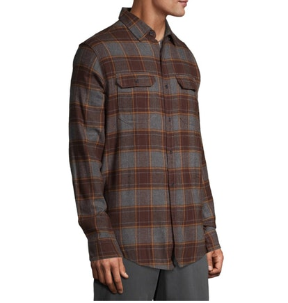 George Men's and Big Men's Super Soft Flannel Shirt