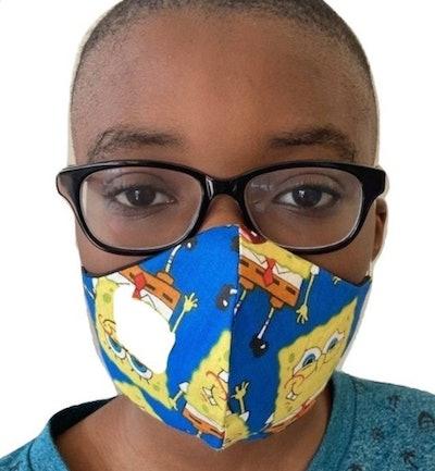 SpongeBob Mask For Kids, AlphVizDesigns