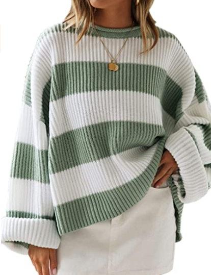 ZESICA Oversized Knit Sweater