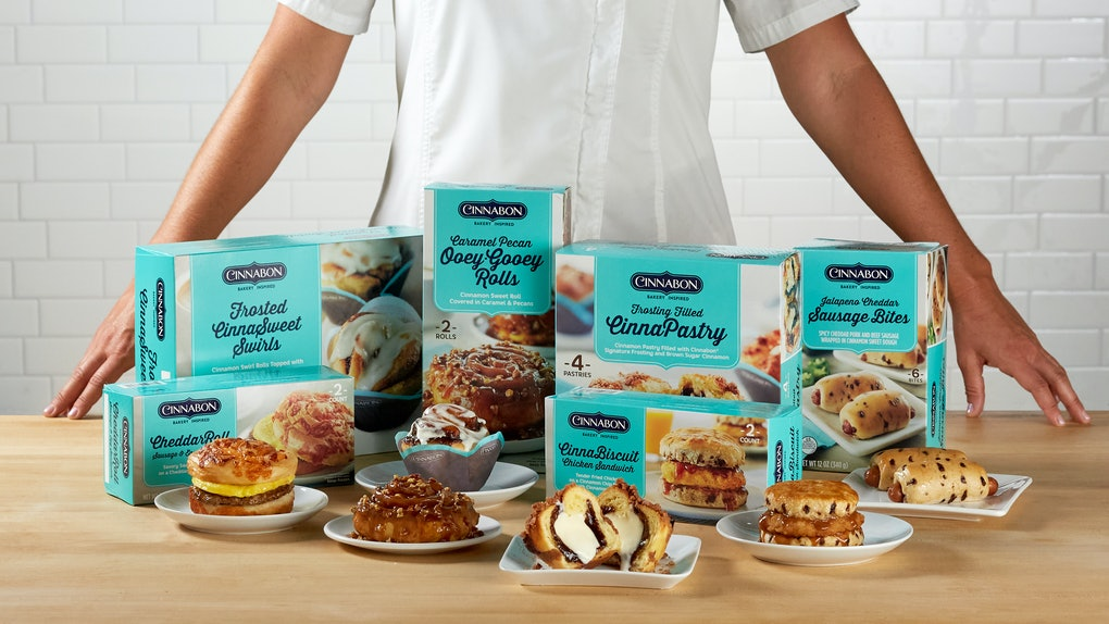 Cinnabon's new at-home frozen breakfast creations are available at national retailers.