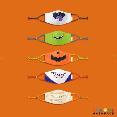 Crayola™ Reusable Cloth Kids Face Mask Set, Halloween