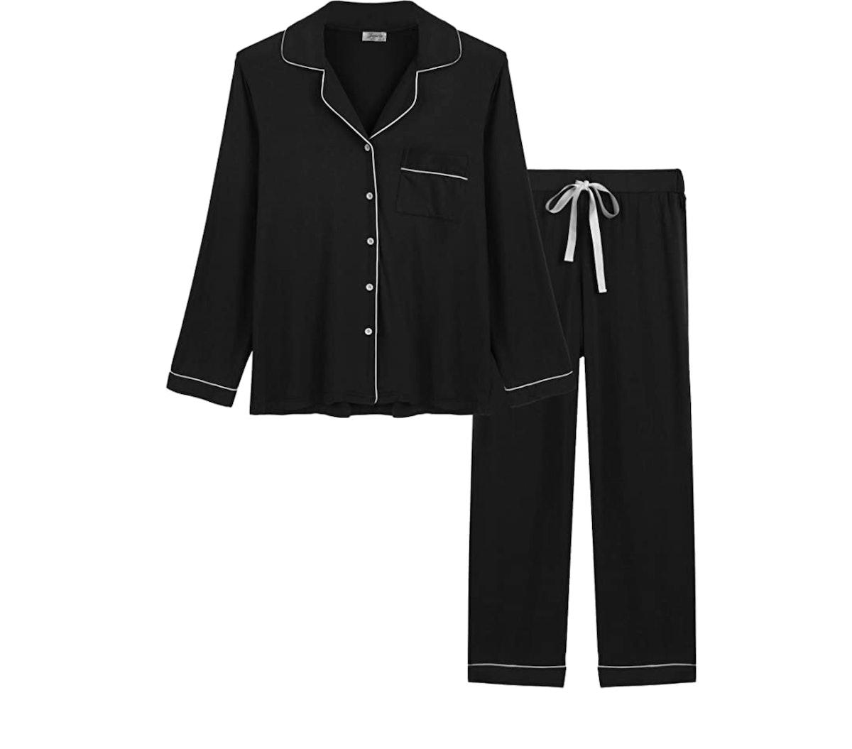 Joyaria Womens Soft Bamboo Pajama Set