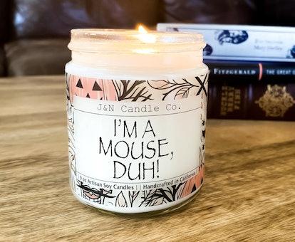 Halloween Decor Im a Mouse Duh