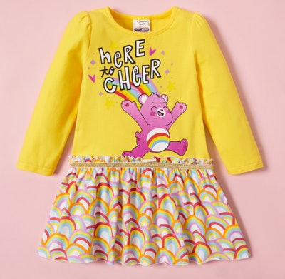 Care Bears Cotton Here To Cheer Rainbow Dress
