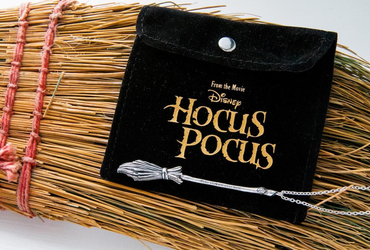 Disney's Hocus Pocus Broom Necklace