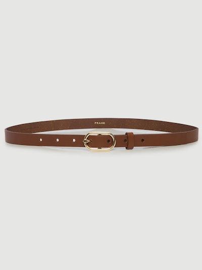 Petit Oval Buckle Belt
