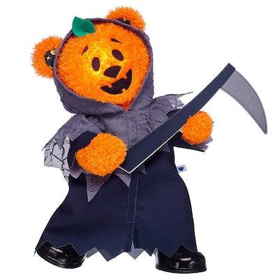Pumpkin Glow Halloween Teddy