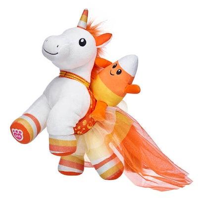 Candy Corn Unicorn Halloween Set