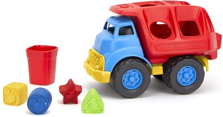 Green Toys Disney Baby Exclusive - Mickey Mouse & Friends Shape Sorter Truck