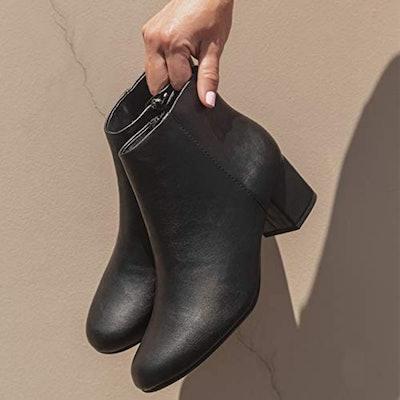 J. Adams Jody Low Heel Ankle Boot