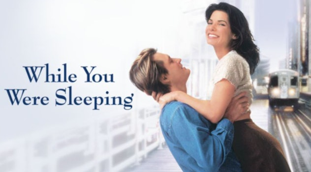 While You Were Sleeping is a romantic comedy from 1995 starring Sandra Bullock
