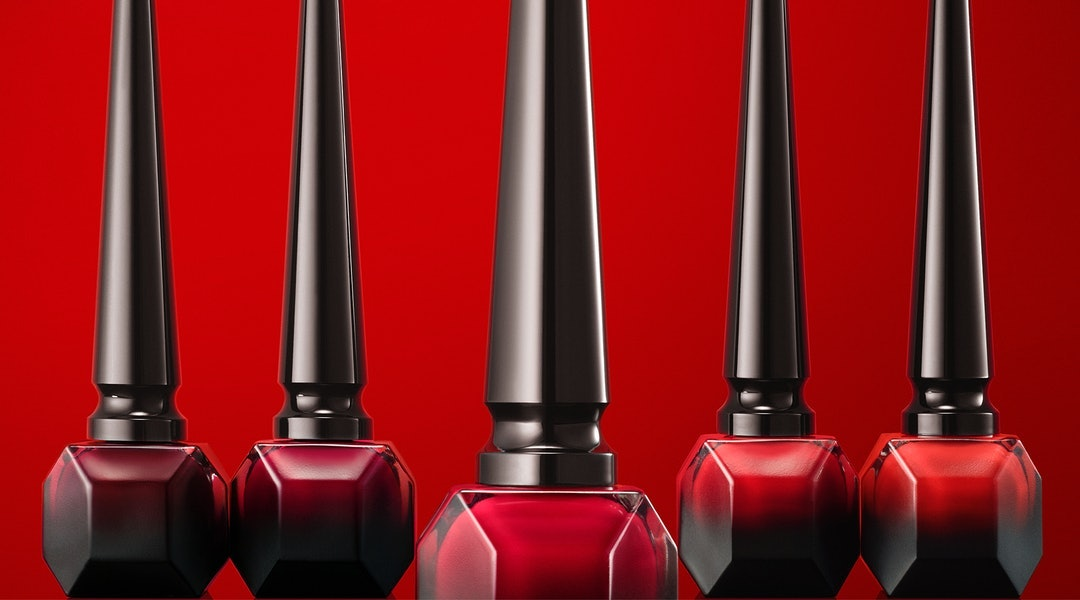 Christian Louboutin Beauty Matte Fluids nail review with photos of the polish on nails.