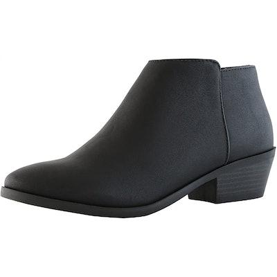 DailyShoes Western Cowboy Bootie