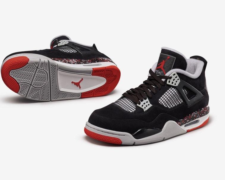 Drake OVO Air Jordan 4 Sample