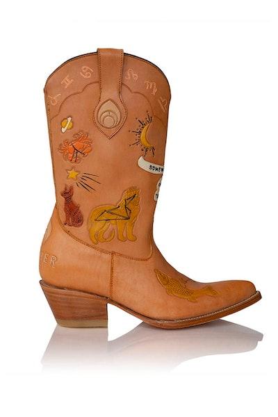 Saturn Doodle Boots
