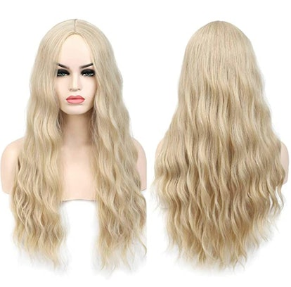Benegem 26 Inches Blond 613 Long Wavy Wig