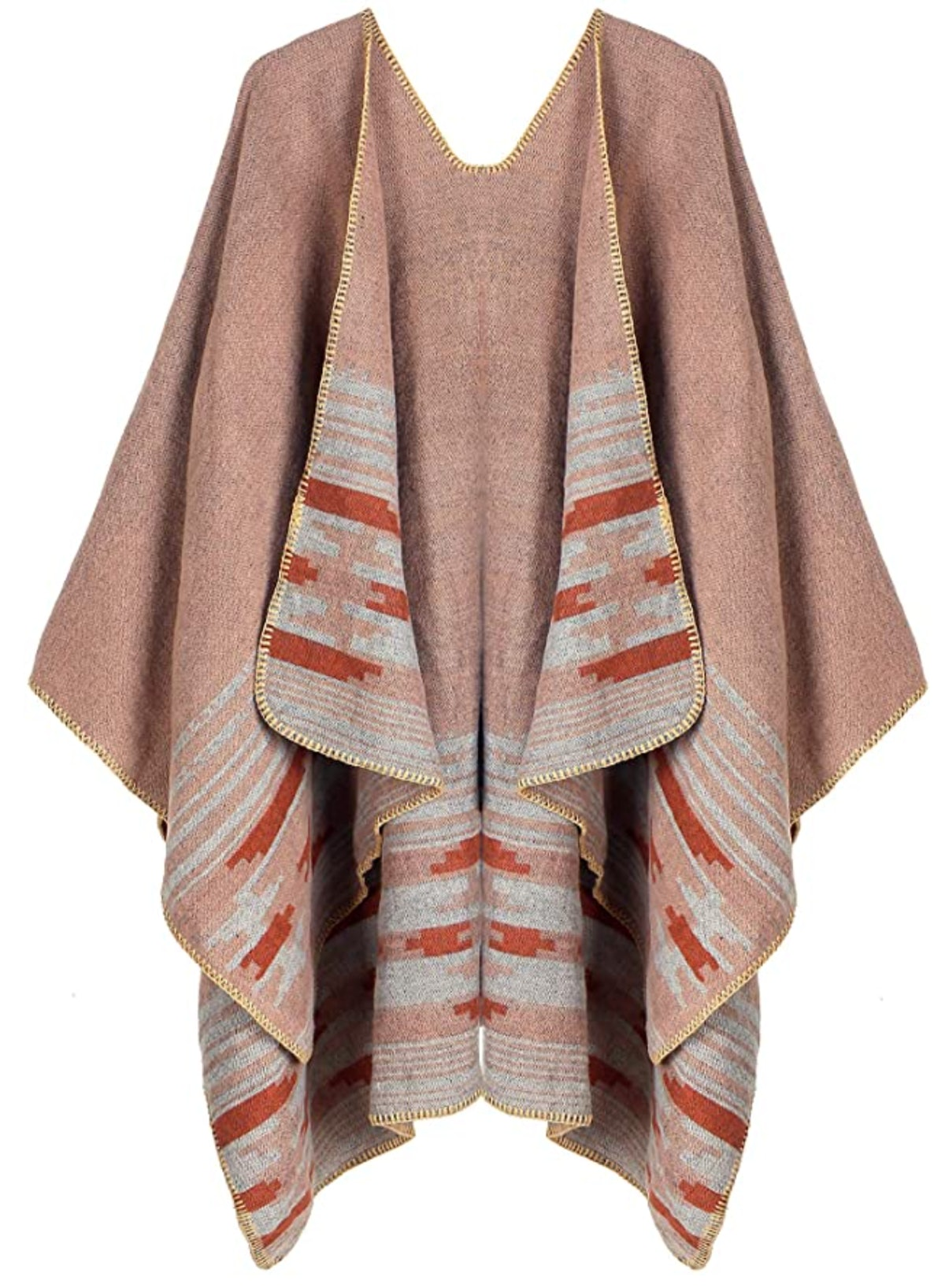 Kollie More Open Front Poncho